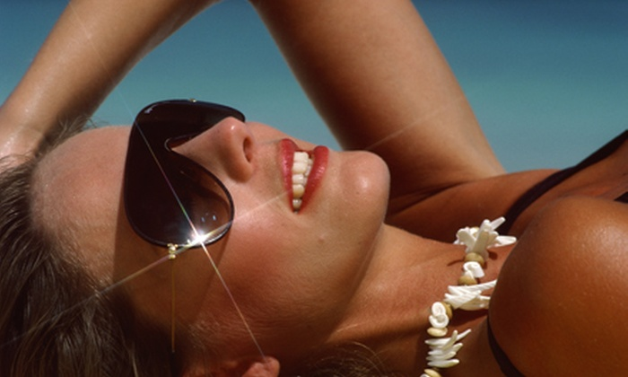 Jill's Beach - Multiple Locations: Two Mystic Tans or Two or Four Custom-Airbrush Tans at Jill's Beach (Up to 54% Off)