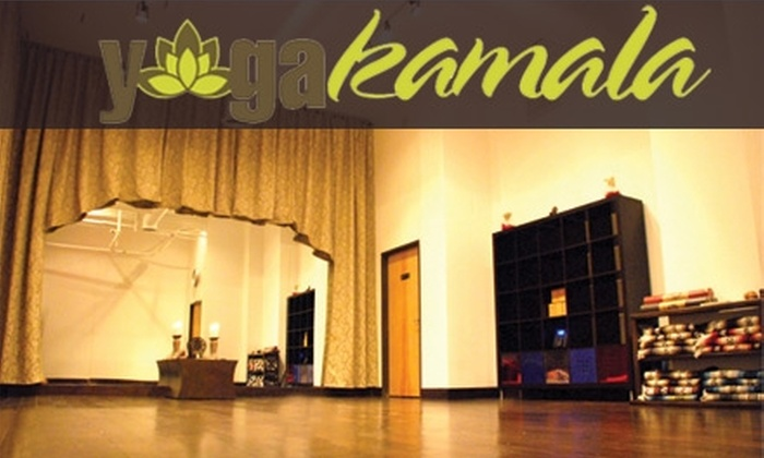 Yoga Kamala - Desert View: $28 for One Month of Unlimited Yoga Plus One Private Lesson at Yoga Kamala ($174 Value)