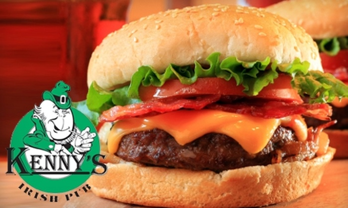 Kenny's Irish Pub - Countryside: $15 for $30 Worth of Pub Grub and Drinks at Kenny's Irish Pub in Countryside