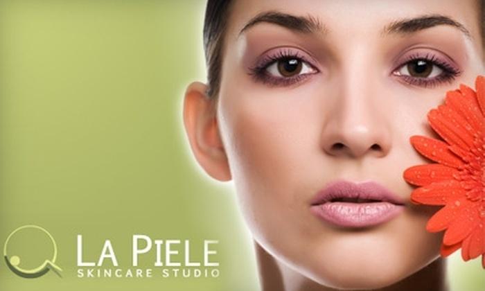 La Piele Skincare Studio - Huntington: $45 for a Classic Spa Facial or $85 for an Anti-Aging Spa Package at La Piele Skincare Studio