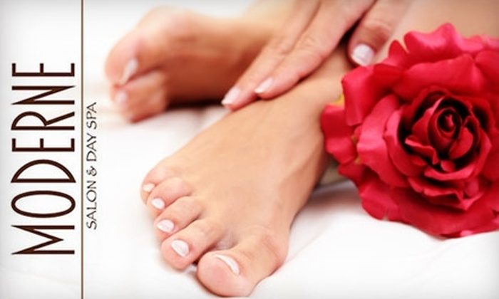 51% Off Mani-Pedi at Moderne - Moderne Salon and Day Spa | Groupon