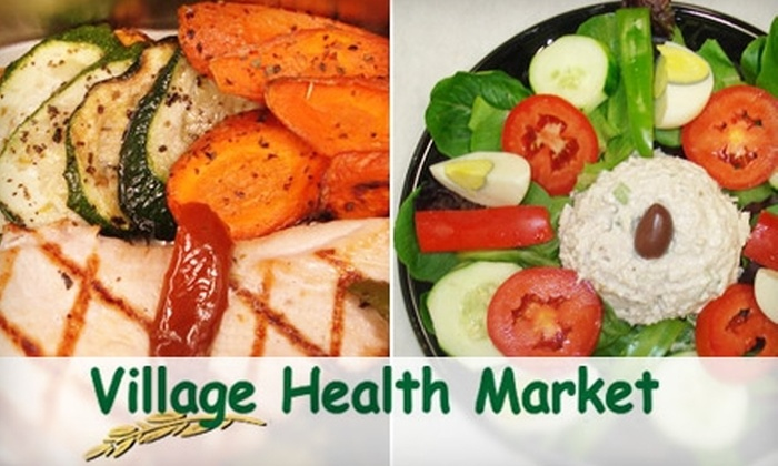 Village Health Market - Tampa Bay Area: $12 for $25 Worth of Grocery or Deli Items at Village Health Market