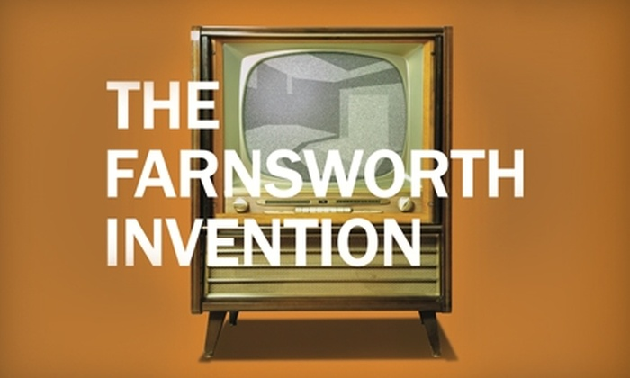 "University of Evansville Theatre - Evansville: $10 for Two Tickets to ""The Farnsworth Invention"" at the University of Evansville (Up to $24 Value). Four Dates Available."