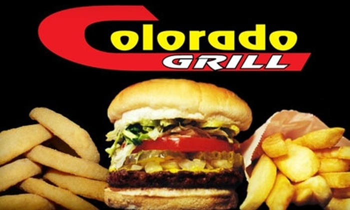 Colorado Grill - Multiple Locations: $6 for $12 Worth of Tasty Burgers and More at Colorado Grill