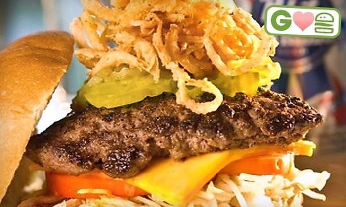 Grind Burger Bar & Lounge - Las Vegas: $10 for $20 Worth of Burgers and More at Grind Burger Bar & Lounge