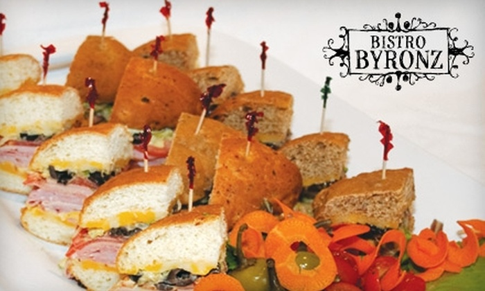 Bistro Byronz - Multiple Locations: $15 for $30 Worth of Bistro Fare at Bistro Byronz. Choose from Two Locations