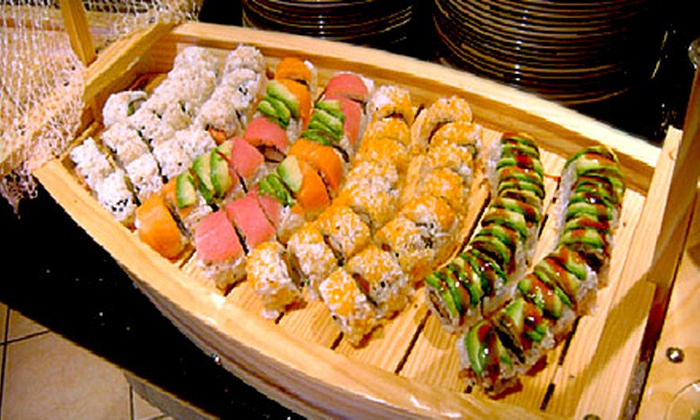 Mongolian Bar-B-Que Buffet - Chesterfield: Sushi and Pan-Asian Fare for Dinner or Lunch at Mongolian Bar-B-Que Buffet in Chesterfield