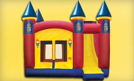 Inflatable Insanity: 1-Day Childs Weekday General Admission - Inflatable Insanity in Akron