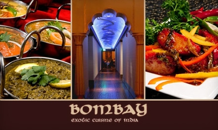 The Monsoon Group - Hillcrest: $20 for $45 Worth of Indian Cuisine at Bombay