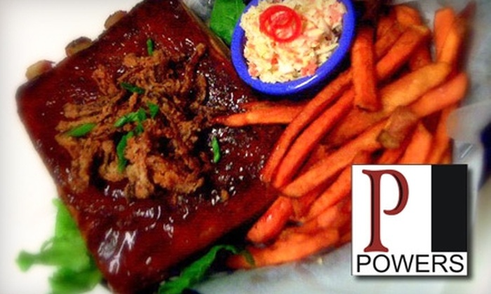Powers Pub - Cranston: $12 for $25 Worth of Spirits and Pub Fare