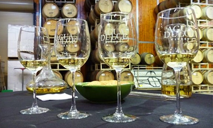 Agua Dulce Winery - Agua Dulce: Group Wine Tastings for Two or Four at Agua Dulce Winery