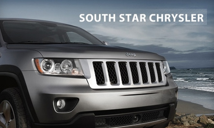South Star Chrysler - Ottawa: $50 for Four Oil Changes at South Star Chrysler ($100 Value)