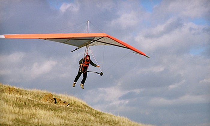 Sacramento Hang Gliding - Sloughhouse: $75 for an Introductory Hang-Gliding Lesson from Sacramento Hang Gliding ($150 Value). Two Options Available.