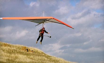Introductory Hang-Gliding Lesson Tue.-Fri. (a $150 value) - Sacramento Hang Gliding in Sloughhouse