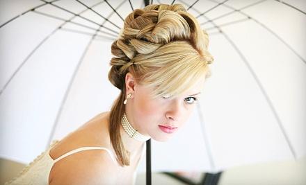 Bridal Hair and Makeup Trial (a $90 value) - Brilliant Hair Studio in Albuquerque