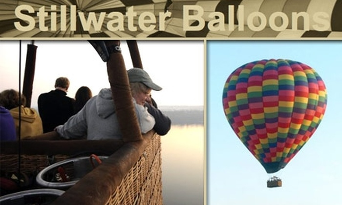 Stillwater Balloons - Lakeland Shores: $147 for One Ride Per Person on a Semi-Private Hot Air Balloon Ride at Stillwater Balloons ($245 Value)