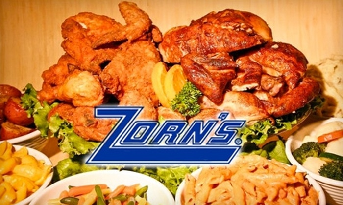 Zorn's - Multiple Locations: $12 for $25 Worth of Award-Winning Fried Chicken at Zorn's