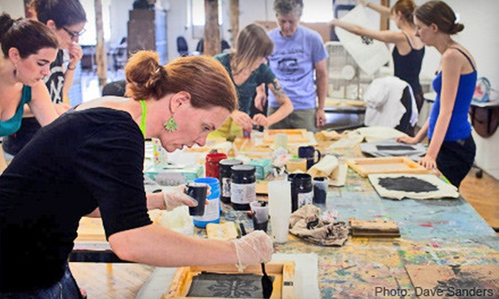Brooklyn Artists Gym - Gowanus: Art Workshop for One or Two at the Brooklyn Artists Gym (Up to 59% Off)