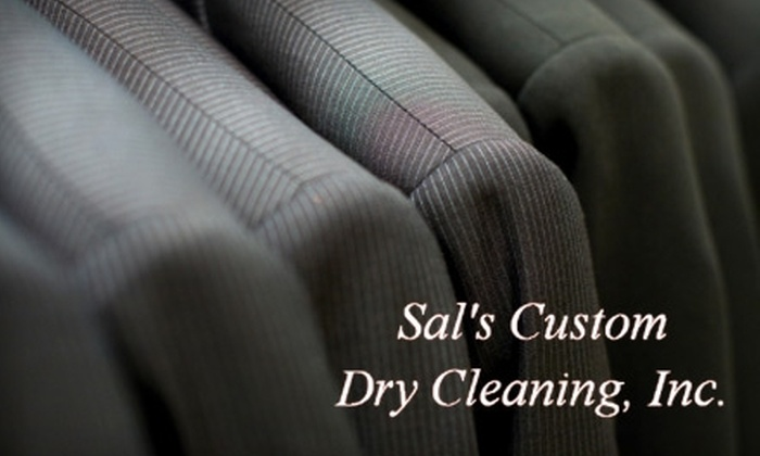 Sal's Custom Dry Cleaning - Multiple Locations: $29 for $70 Worth of Dry-Cleaning Services at Sal's Custom Dry Cleaning