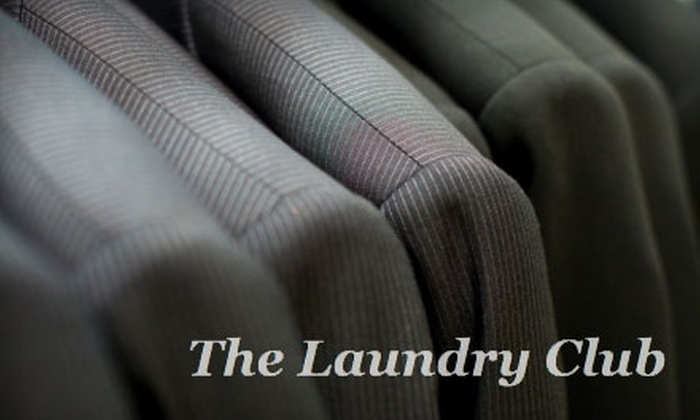 The Laundry Club - Wayland: $15 for $30 Worth of Dry Cleaning from The Laundry Club