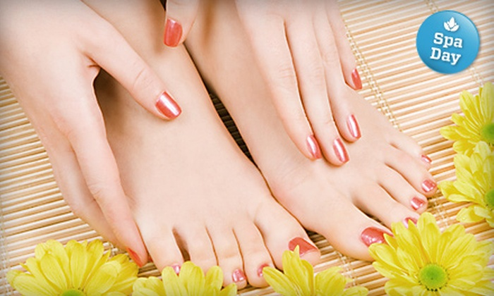 Timothy Stimac Salon & Spa - Bremerton: $35 for an Aveda Mani-Pedi at Timothy Stimac Salon & Spa in Bremerton ($70 Value)
