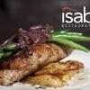 Half Off Fare at Isabella Restaurant in Dedham