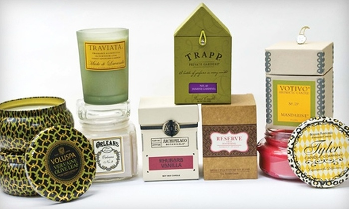 SampleHouse & CandleShop - Multiple Locations: $10 for $20 Worth of Candles and Gifts at SampleHouse & CandleShop