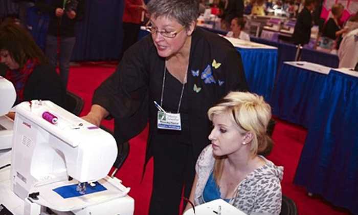 The American Sewing Expo - Novi: $14 for Admission for One and Two One-Hour Seminar Passes at The American Sewing Expo in Novi (Up to a $42 Value)