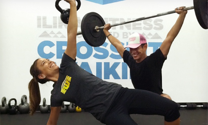 Cross Fit Waikiki - Waikiki: 12 or 20 CrossFit Classes, or 20 CrossFit Classes with Personal-Training Sessions at CrossFit Waikiki (Up to 67% Off)