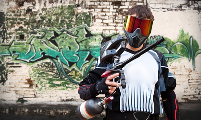 Urban Attack Paintball - Rustic Hills: 2, 4, 6, or 10 All-DayPaintball Outings, Equipment and Ammo at Urban Attack Paintball (Up to 56% Off)