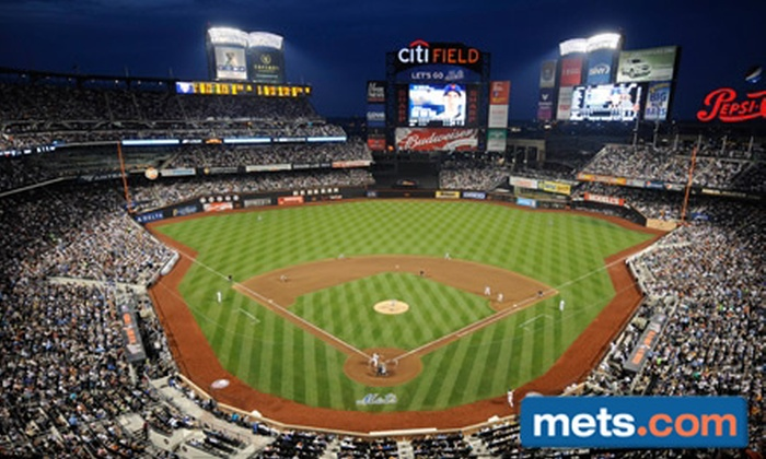 Mets - Flushing Meadows Corona Park: One Ticket to Mets Game. Three Seating Options and Ten Games Available.