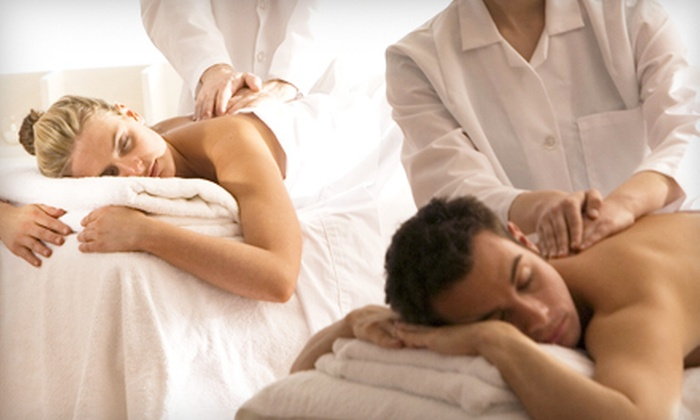 Massage 49 - Southwest Carrollton: Spa Escape for One or Valentine's Spa Package for Two with Massages, Facials, and Foot Masks at Massage 49 (Half Off)