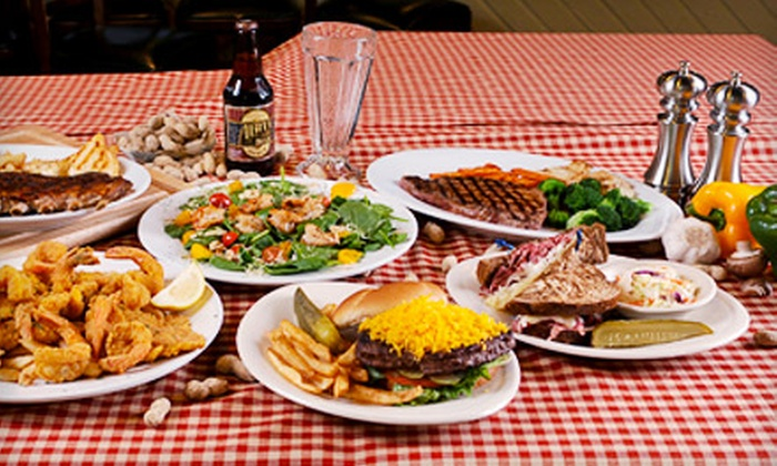 O'Henrys - Multiple Locations: $15 for $30 Worth of American Fare and Drinks at O'Henry's