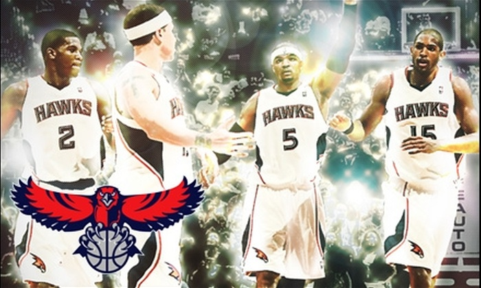 Atlanta Hawks - Downtown: One Ticket to Atlanta Hawks Game at Philips Arena. Choose from Multiple Dates and Seating Options.