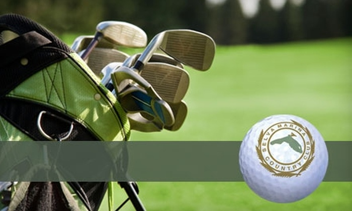 Selva Marina Country Club - Atlantic Beaches: $26 for One Round of Golf with a Cart at Selva Marina Country Club in Atlantic Beach ($60 Value)