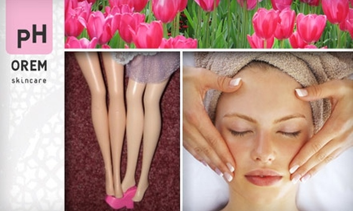 pH OREM Skincare - Warehouse District: $45 for $97 Worth of Facials or Waxing at pH Orem Skincare