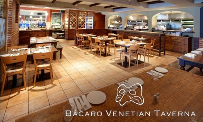 Bácaro Venetian Taverna - Downtown: $15 for $30 Worth of Italian Fare at Bácaro Venetian Taverna in Boulder