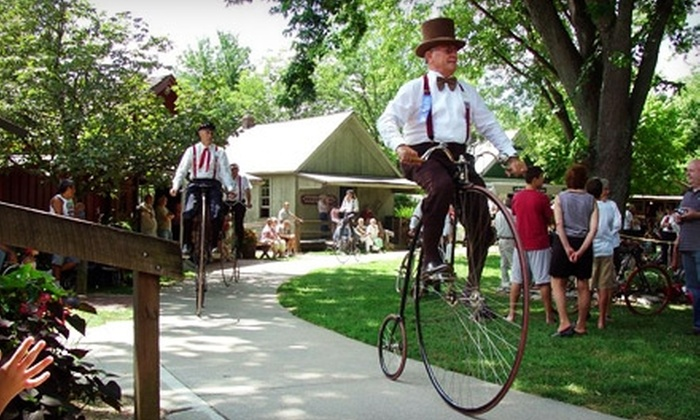 Sauder Village - Archbold: $29 for Four One-Day Admissions to Historic Sauder Village in Archbold (Up to $58 Value)