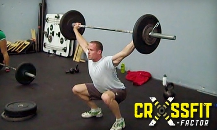 CrossFit X-Factor - Northwest District: $60 for 10 CrossFit Classes at CrossFit X-Factor