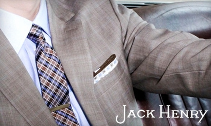 Jack Henry - Country Club Plaza: $40 for $80 Worth of Upscale Men's Clothing at Jack Henry on the Plaza