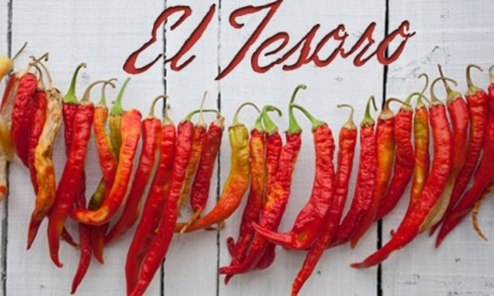El Tesoro - Downtown Colorado Springs: $12 for $30 Worth of Southwestern Cuisine and Drinks at El Tesoro