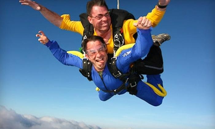 Skydive Greensburg - Salem: $129 for Tandem Jump at Skydive Greensburg ($269 Value)