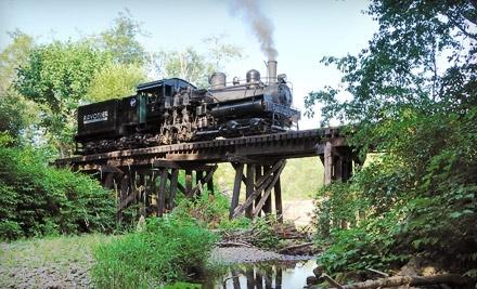 Mt. Rainier Scenic Railroad - Mt. Rainier Scenic Railroad in Elbe