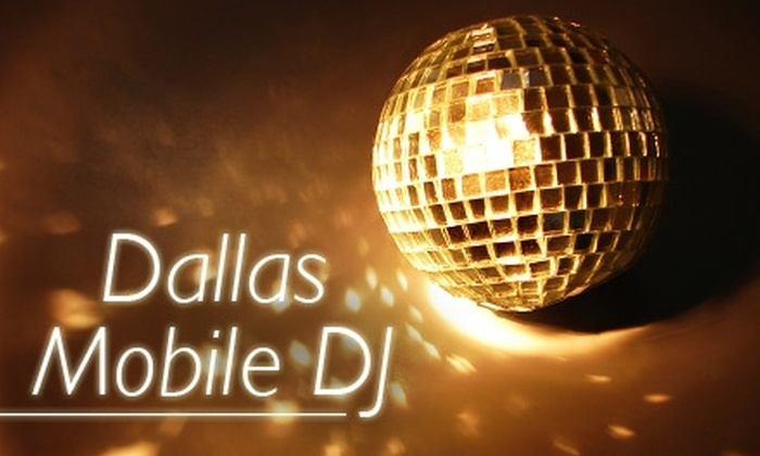 Dallas Mobile DJ - Dallas: $250 for Four Hours of On-Location DJing from Dallas Mobile DJ (Up to $500 Value)