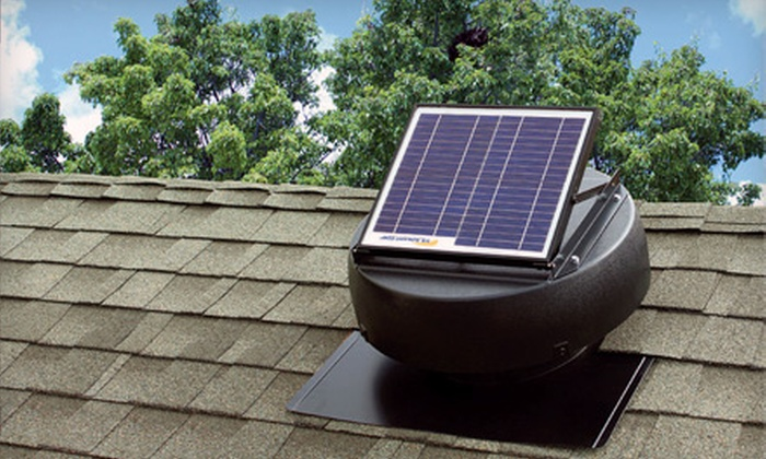 U.S. Sunlight Corporation - SoMa: Solar-Powered Attic Fan and Installation or Installation of a Solar Controller from U.S. Sunlight Corporation
