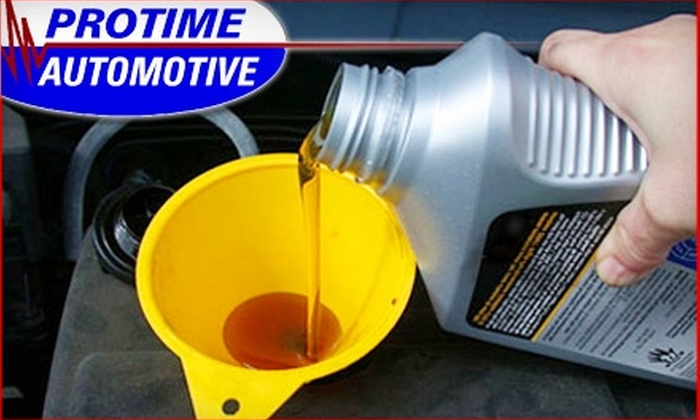 Protime Automotive - Northwest Virginia Beach: $12 for a Full-Service Oil Change at Protime Automotive in Virginia Beach ($24.99 Value)