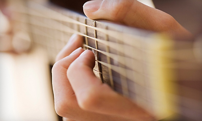 Mark's Guitar Shop - Spokane: Equipment and Repair Services or Lessons at Mark's Guitar Shop (Up to 56% Off). Three Options Available.