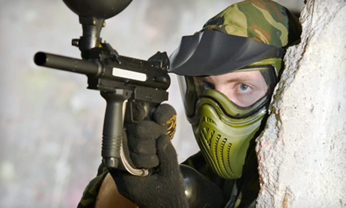 BattlegroundZ - Attleboro: Paintball Outing for Two, Four, or Eight at BattlegroundZ in Attleboro