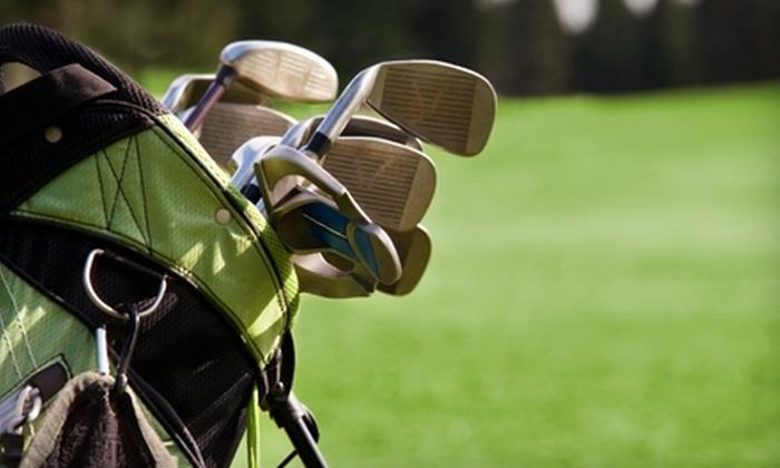 Arkansas Golf Center - Conway: $50 for Full Bag Fitting and V1 Pro Digital Video Lesson at Arkansas Golf Center