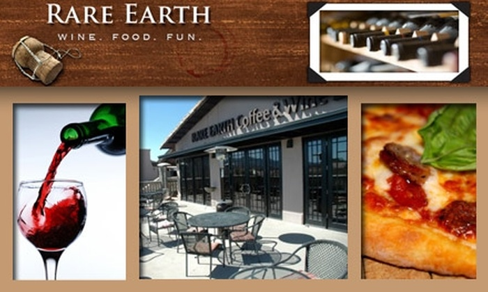 Rare Earth Pizza & Wine Bar - Troon North: $10 for $25 Worth of Thin-Crust Pies and More at Rare Earth Pizza & Wine Bar